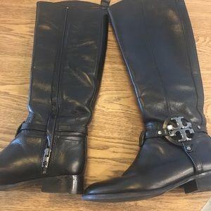 f416fe2bd5f Tory Burch aaden Amanda riding boots black 6 EUC